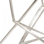 Aluminum Architects Stool