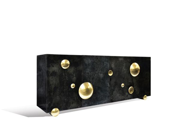 Brass Constellation Sideboard