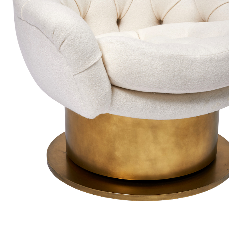 Turn Around Swivel Club Chair