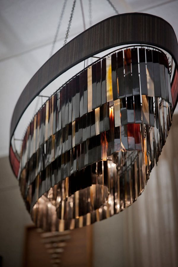 Oval Eclipse Chandelier by OCHRE