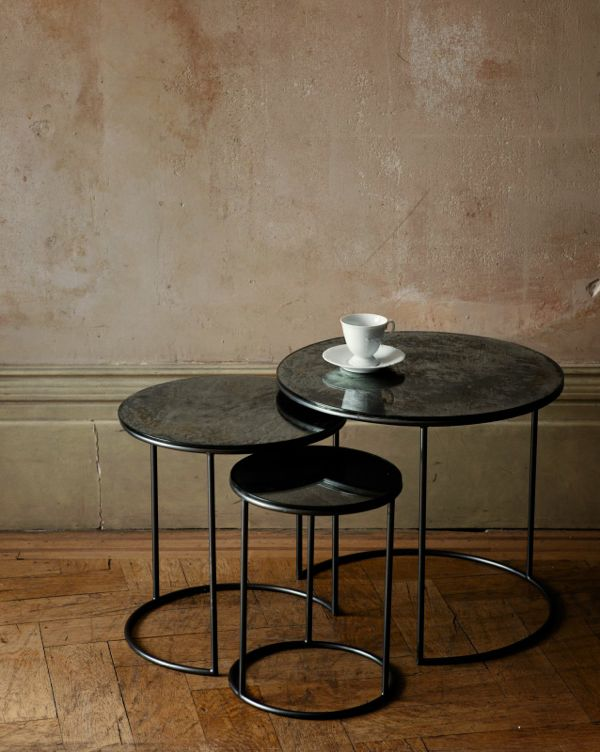 Moon Tables, Nest of Three by OCHRE