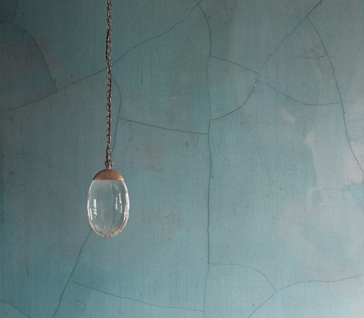 Celestial Pebble Pendant by OCHRE