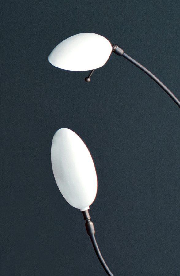 Scorpion Table Lamp Double & Single Head by Ochre