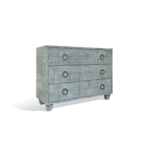 Shagreen Dresser with Rings by Scala Luxury