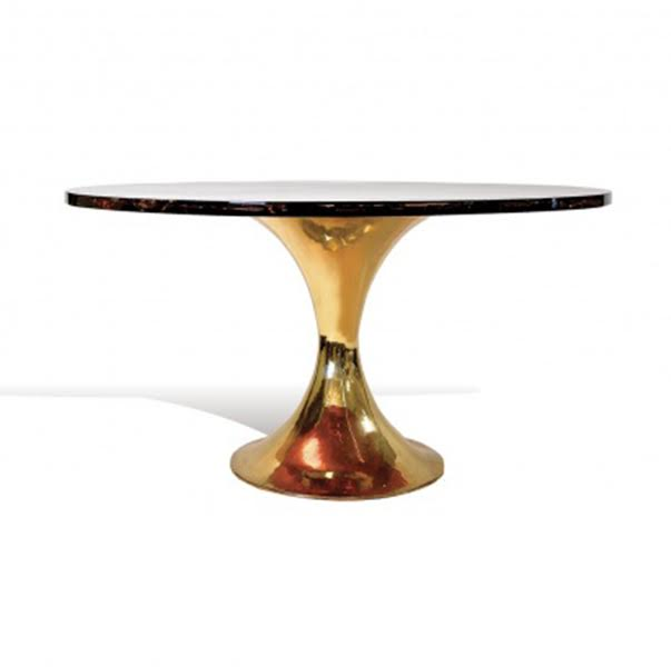 Ice Resin Tulip Table by Scala Luxury
