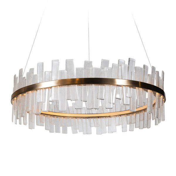 Aquitaine Chandelier, Single Tier by COUP STUDIO