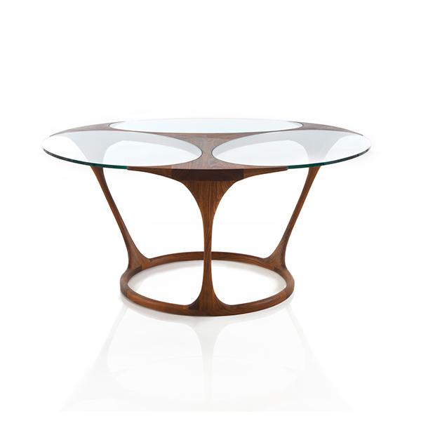 Yris Dining Table, Round by Agrippa
