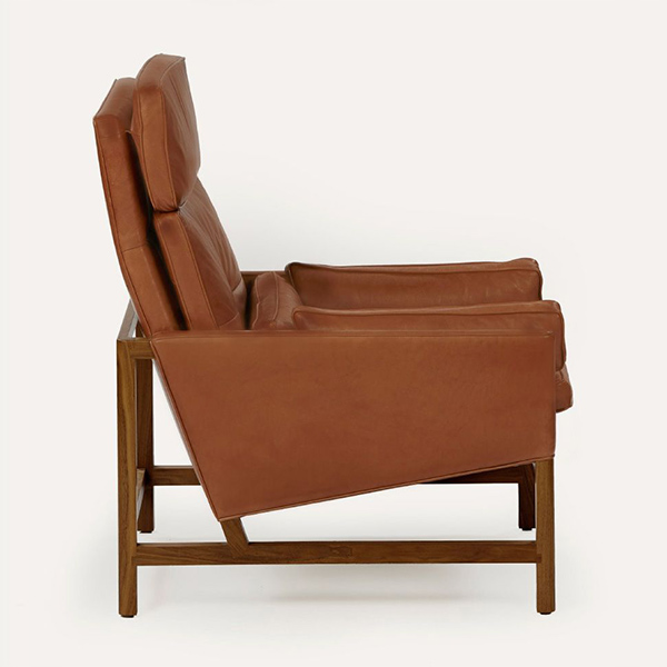 High Back Lounge Chair by BassamFellows