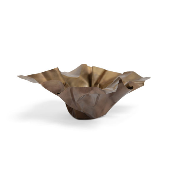 Paper 1 Bowl in Brass by Gentner