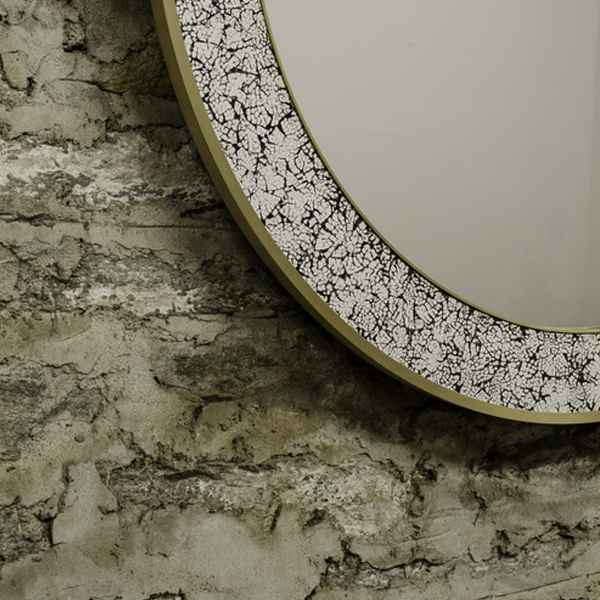 L'Oeuf Mirror by DELAVEGA DESIGNS