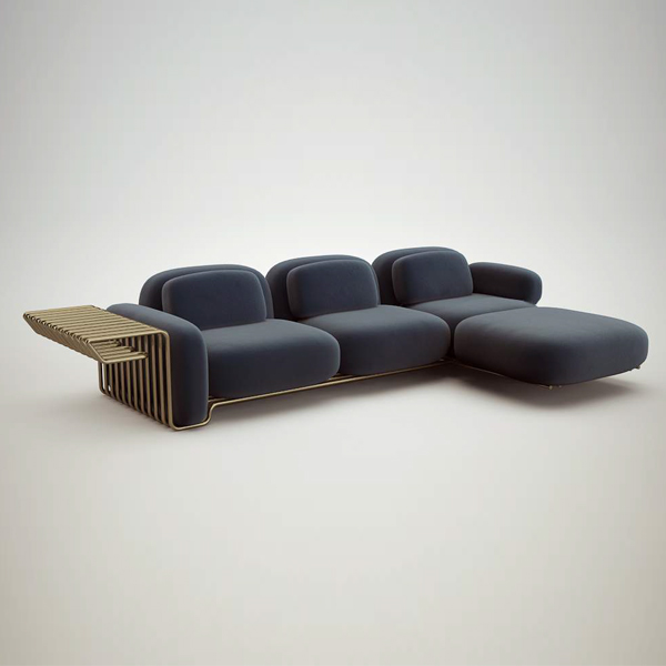 Si Sofa System by Atelier D'Amis