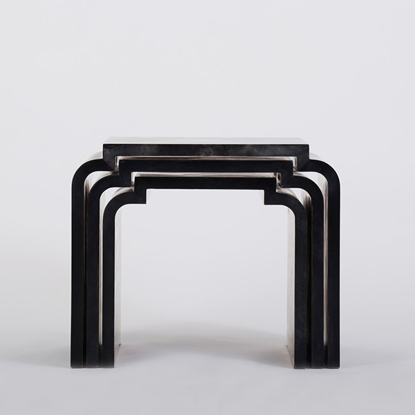 Yuu Nesting Table by Elan Atelier