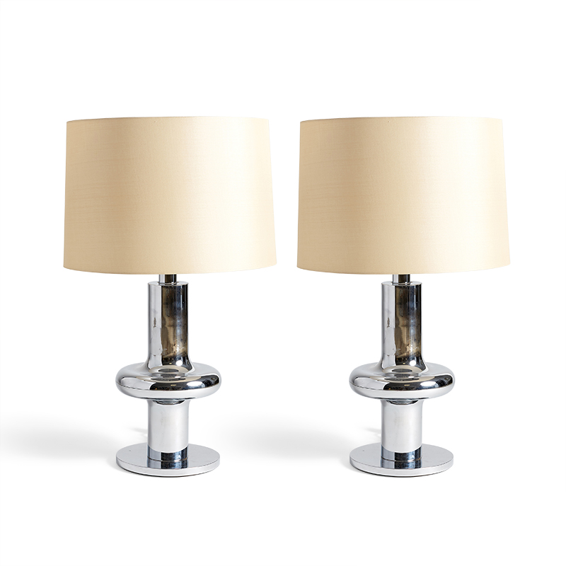 Niquel Table Lamps by CLAR