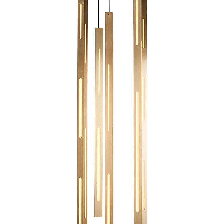 Light Pole Chandelier by Douglas Fanning