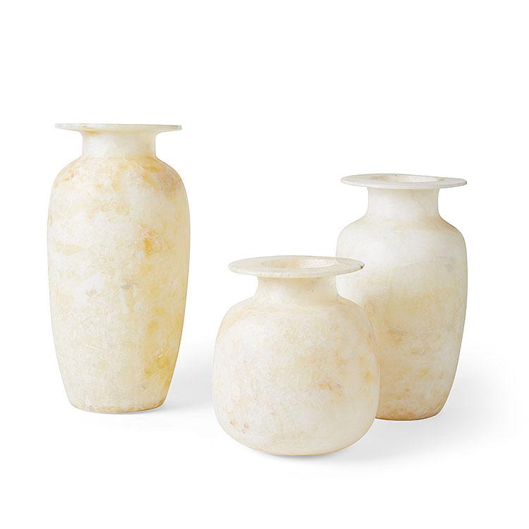 Alabaster Pots
