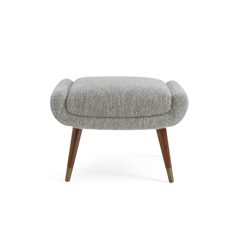 Italian Club Chair – Ottoman by Coup Studio