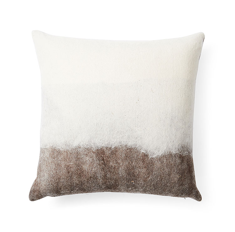 Shetland Forest Wool Pillow