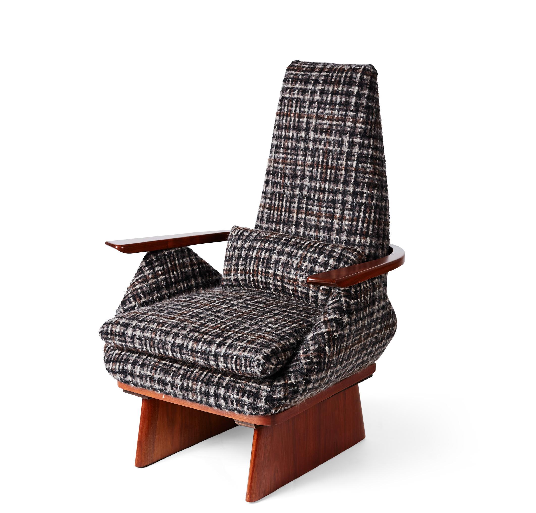 Sled Chair by Sampson Berman Studio