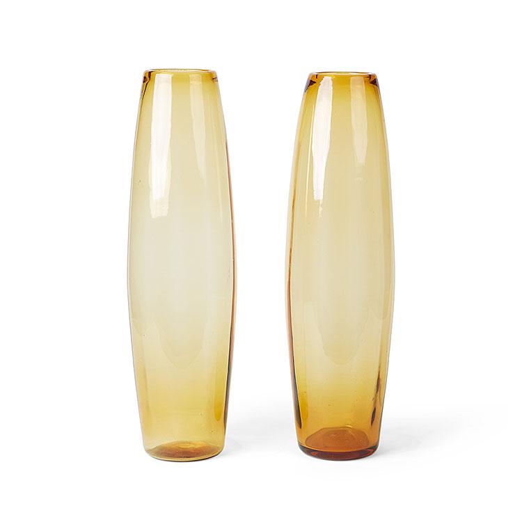 Pair of Ambra Vases