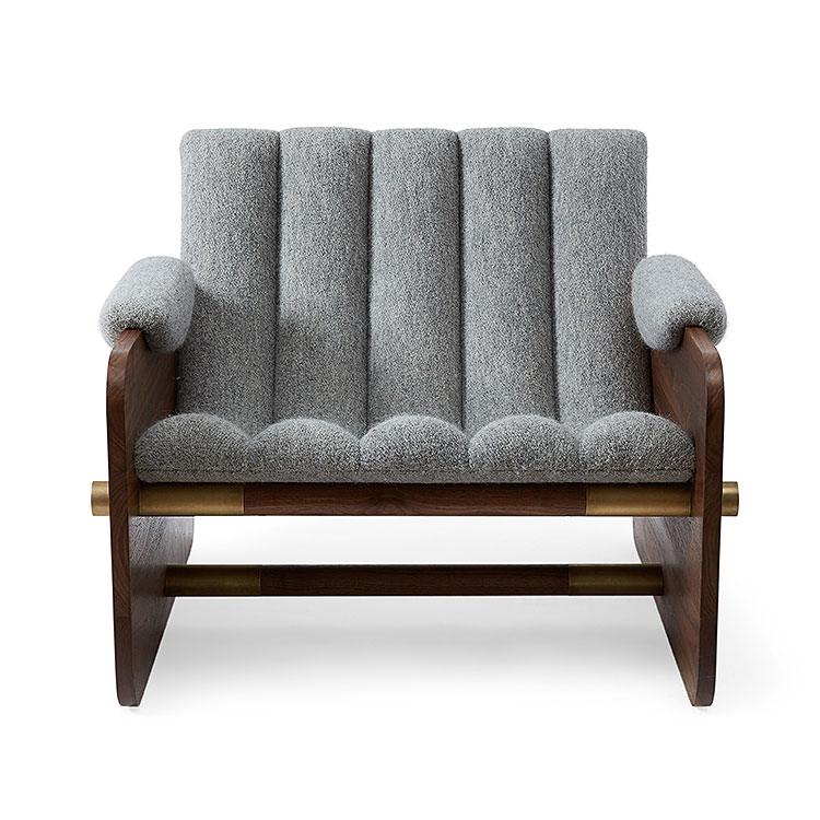 Borso Club Chair by COUP STUDIO
