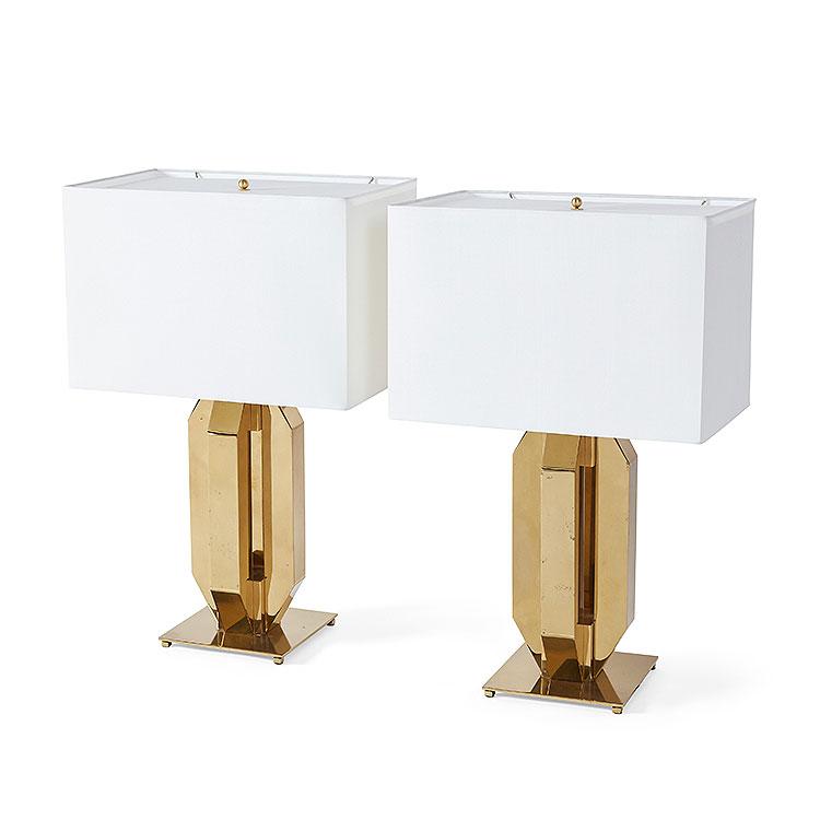 Pair of Republique Table Lamps