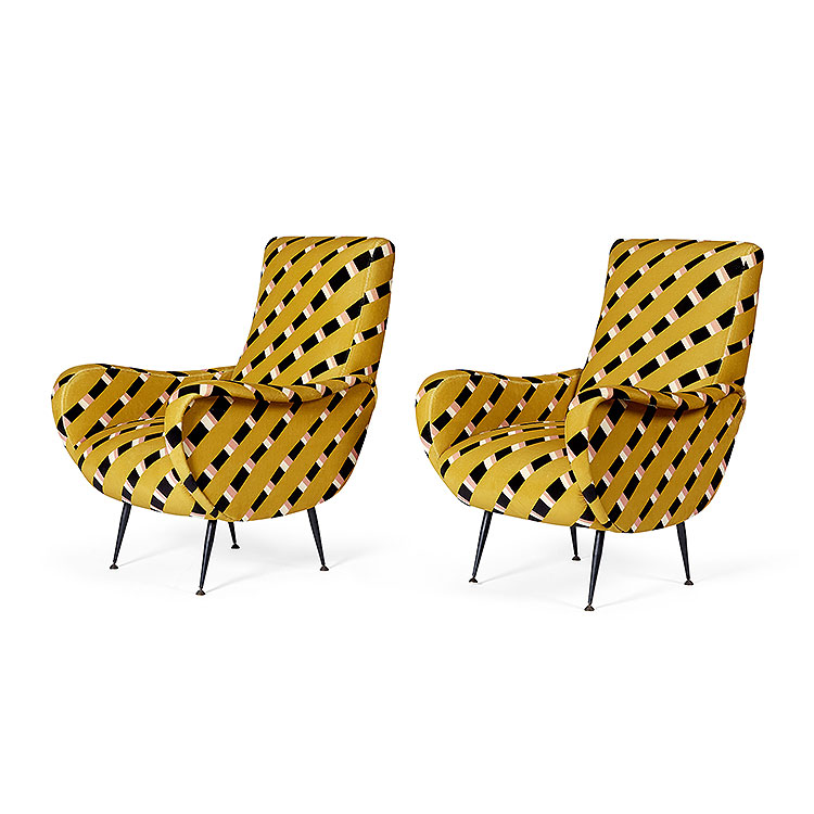 Pair of Frey Club Chairs