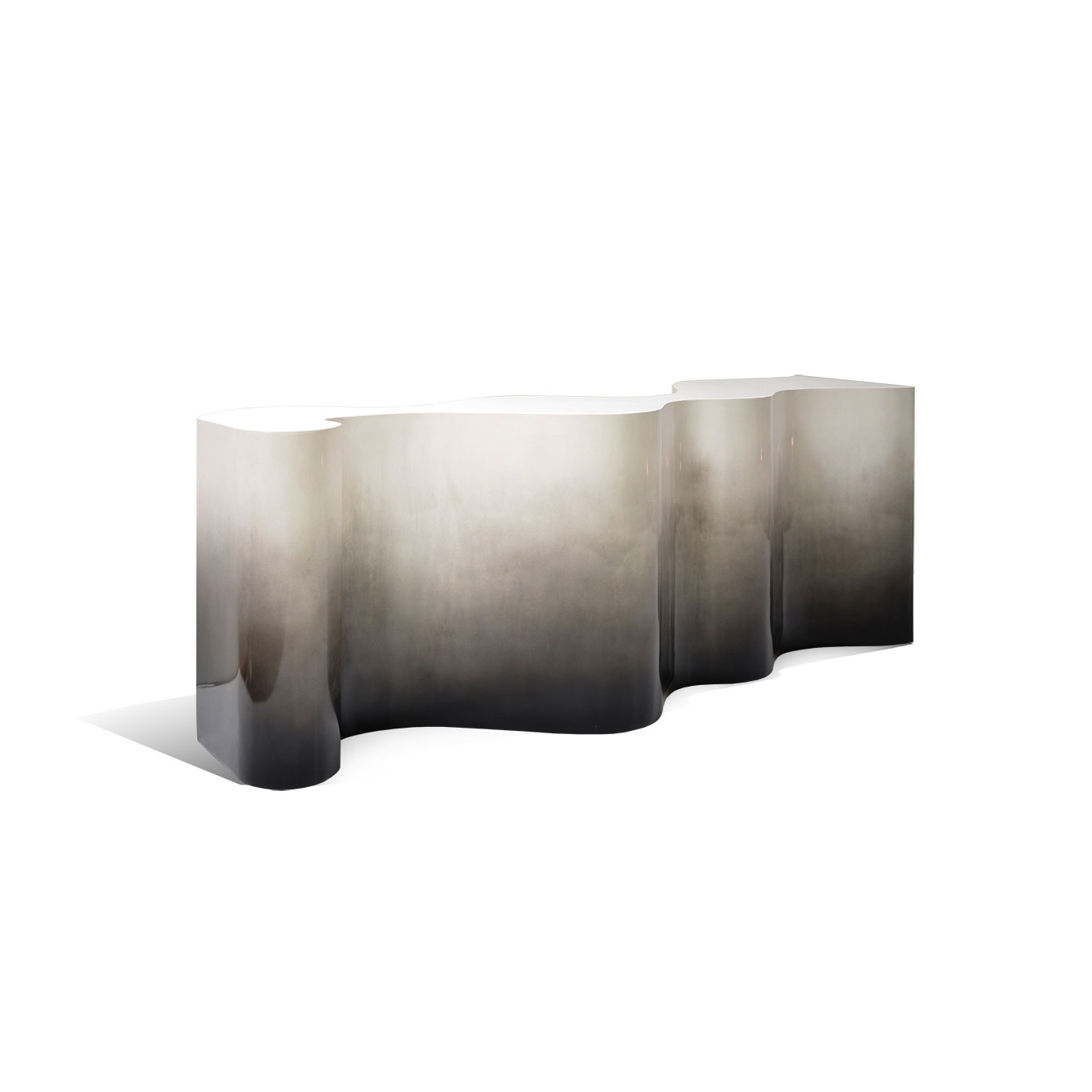 Undulated Console Table by Scala Luxury
