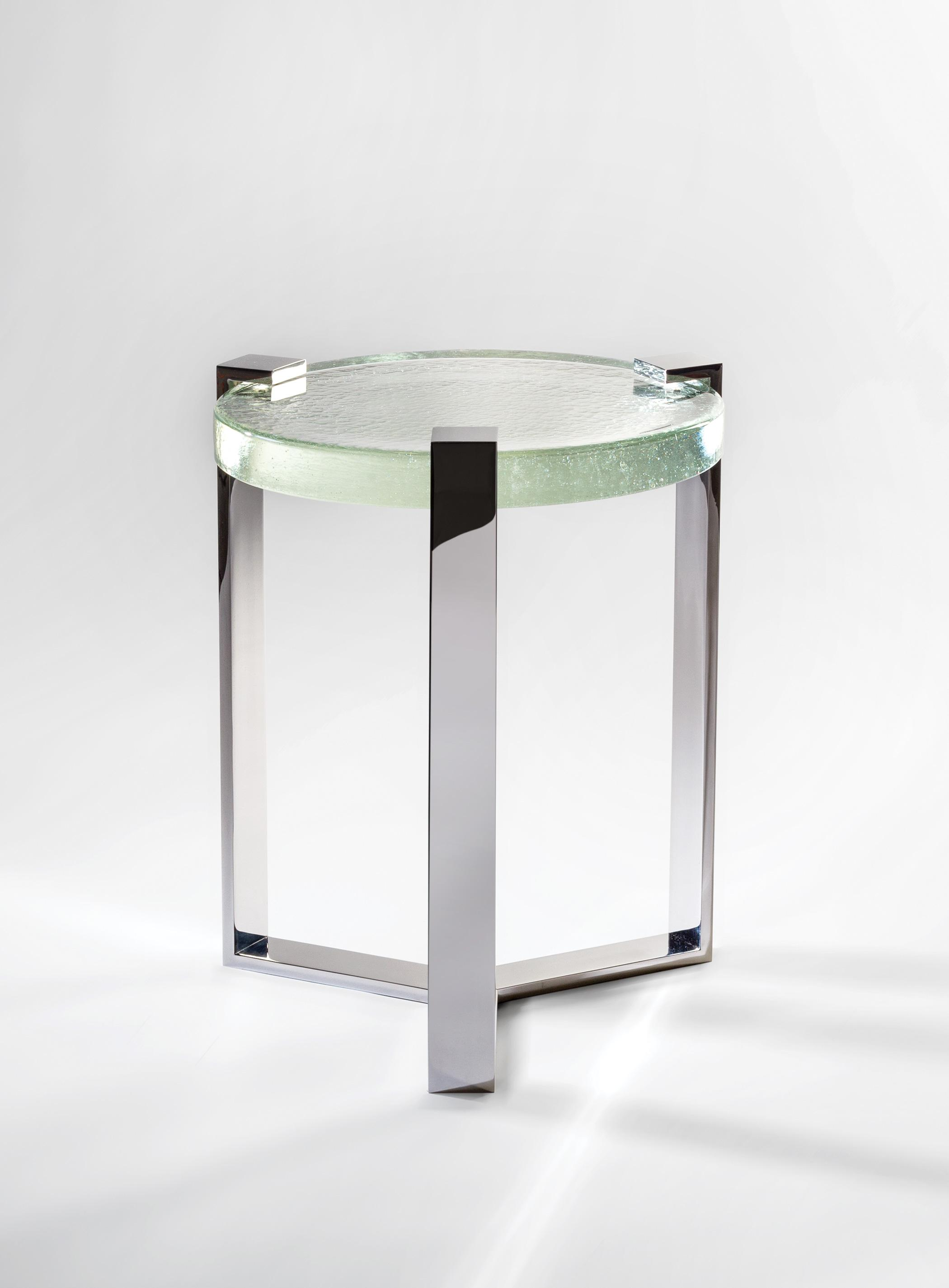 Jewel Round Side Table by Magni Home Collection
