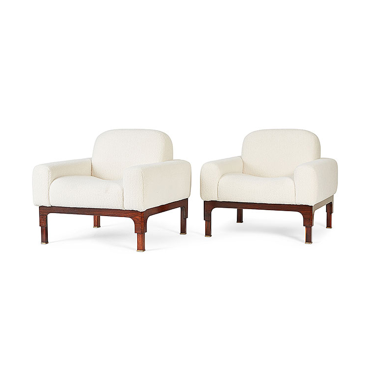 Pair of Romantica Club Chairs