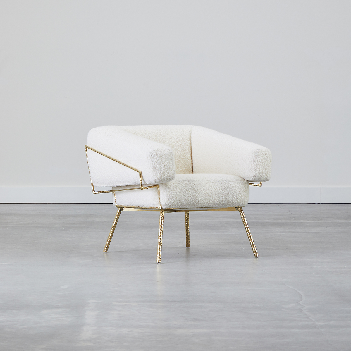 Oblique Chair by COUP STUDIO