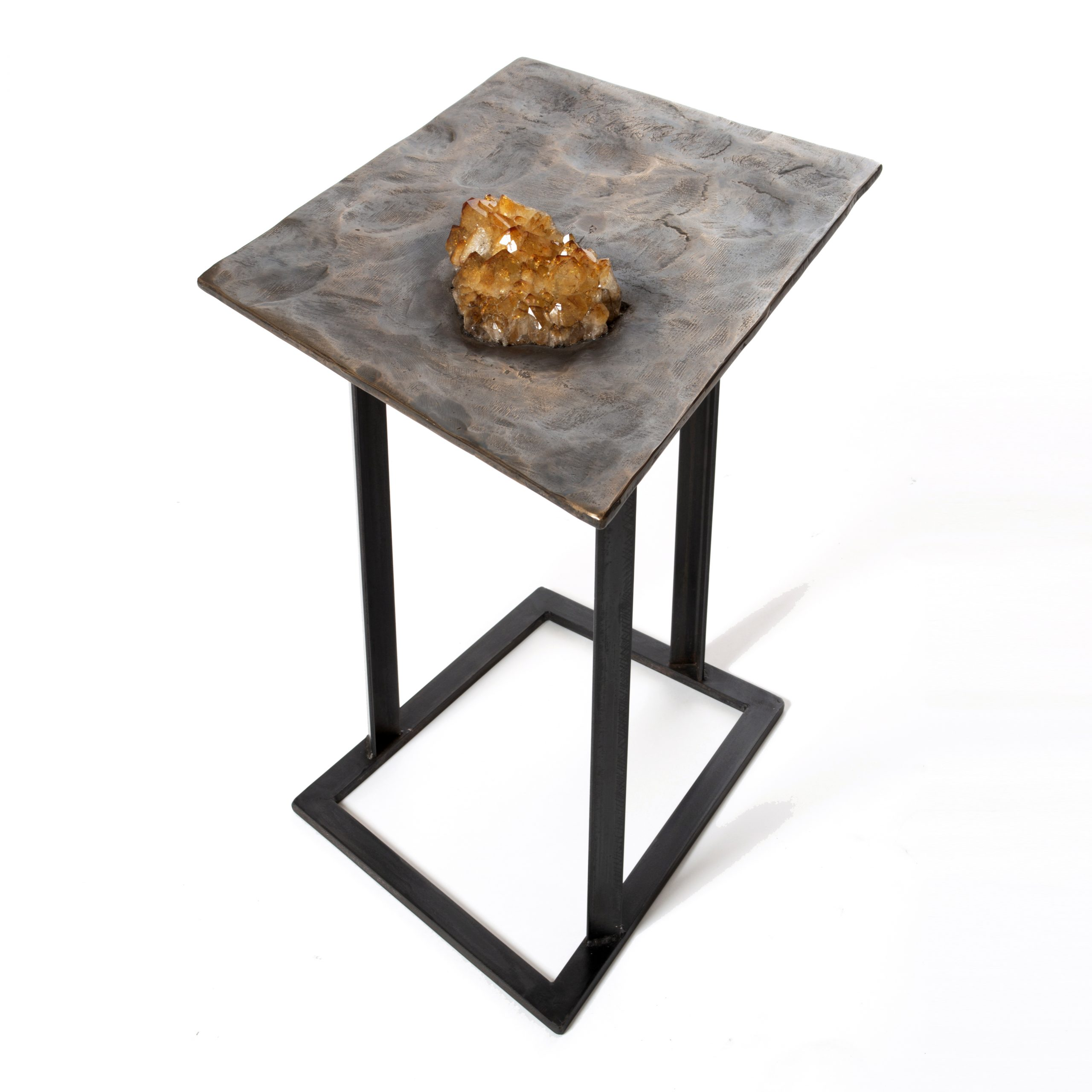 Crystal Series #7 Side Table by Chuck Moffit