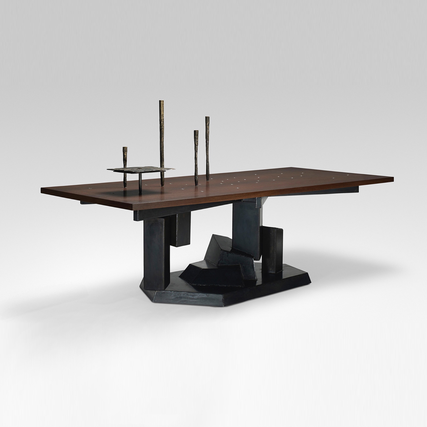 Datum Dining Table by Chuck Moffit