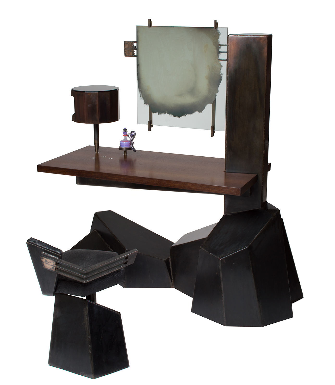 Datum Vanity & Chair by Chuck Moffit