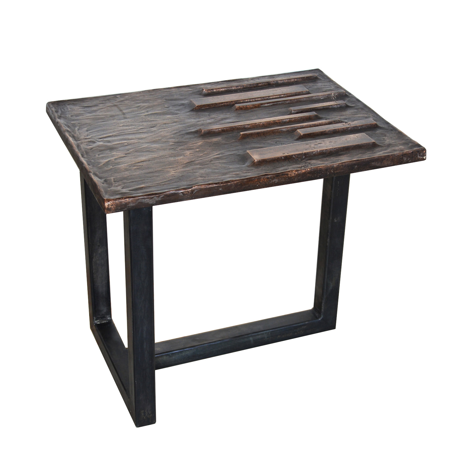 Insurgo Side Table by Chuck Moffit
