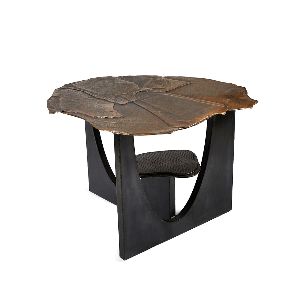 Oshibana Center Table by Chuck Moffit