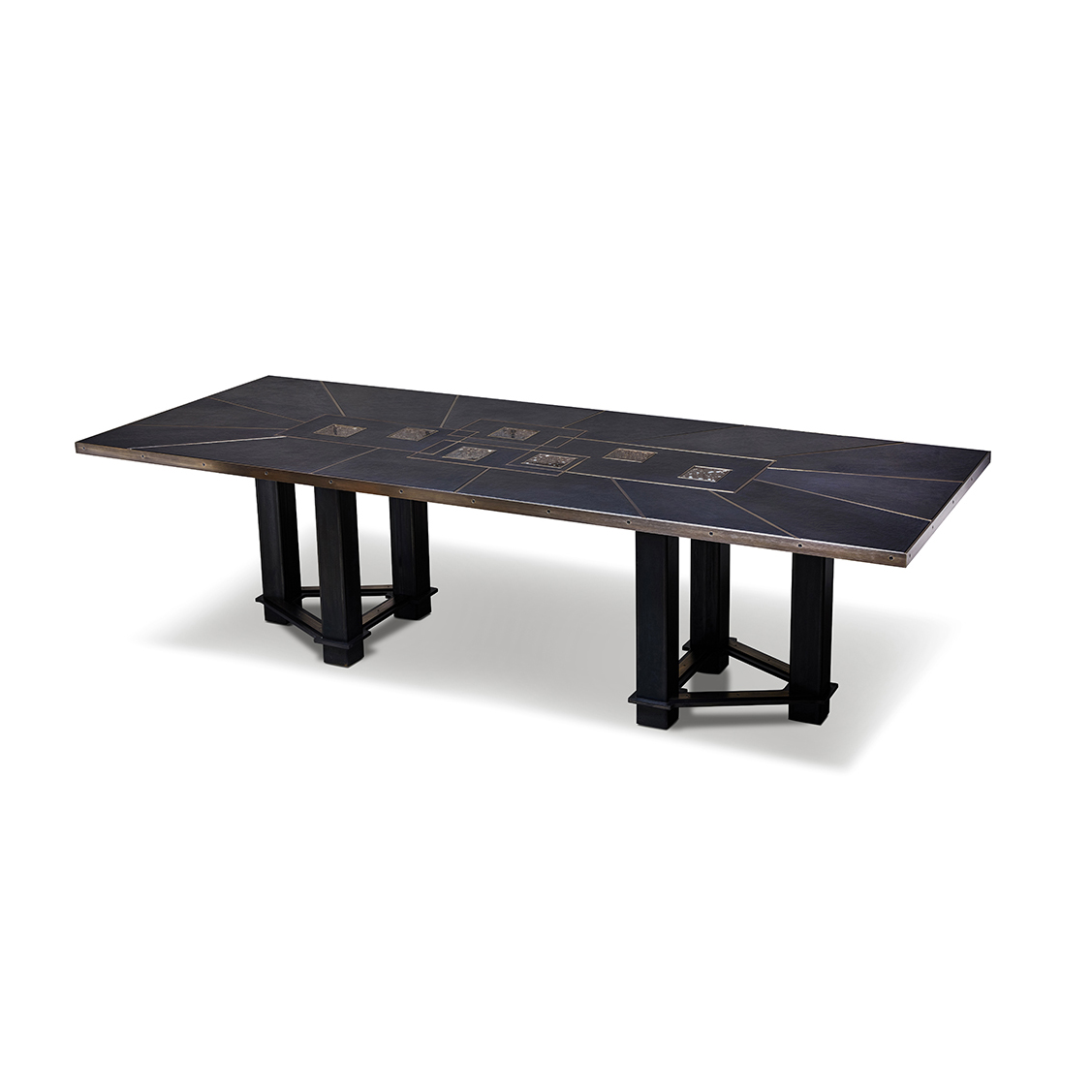 Stratum Dining Table by Chuck Moffit