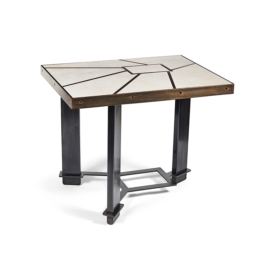 Stratum Side Table by Chuck Moffit