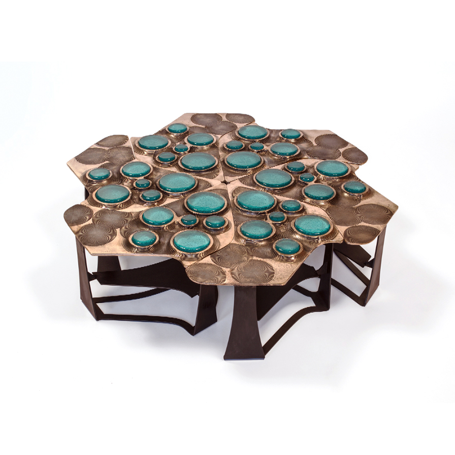 Tiberinus Coffee Table by Chuck Moffit
