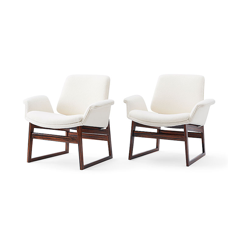 Pair of Model 451 Easy Chairs