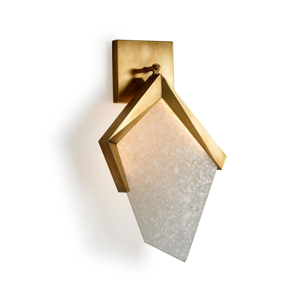 Sail Sconce by Dylan Farrellfor Jean De Merry