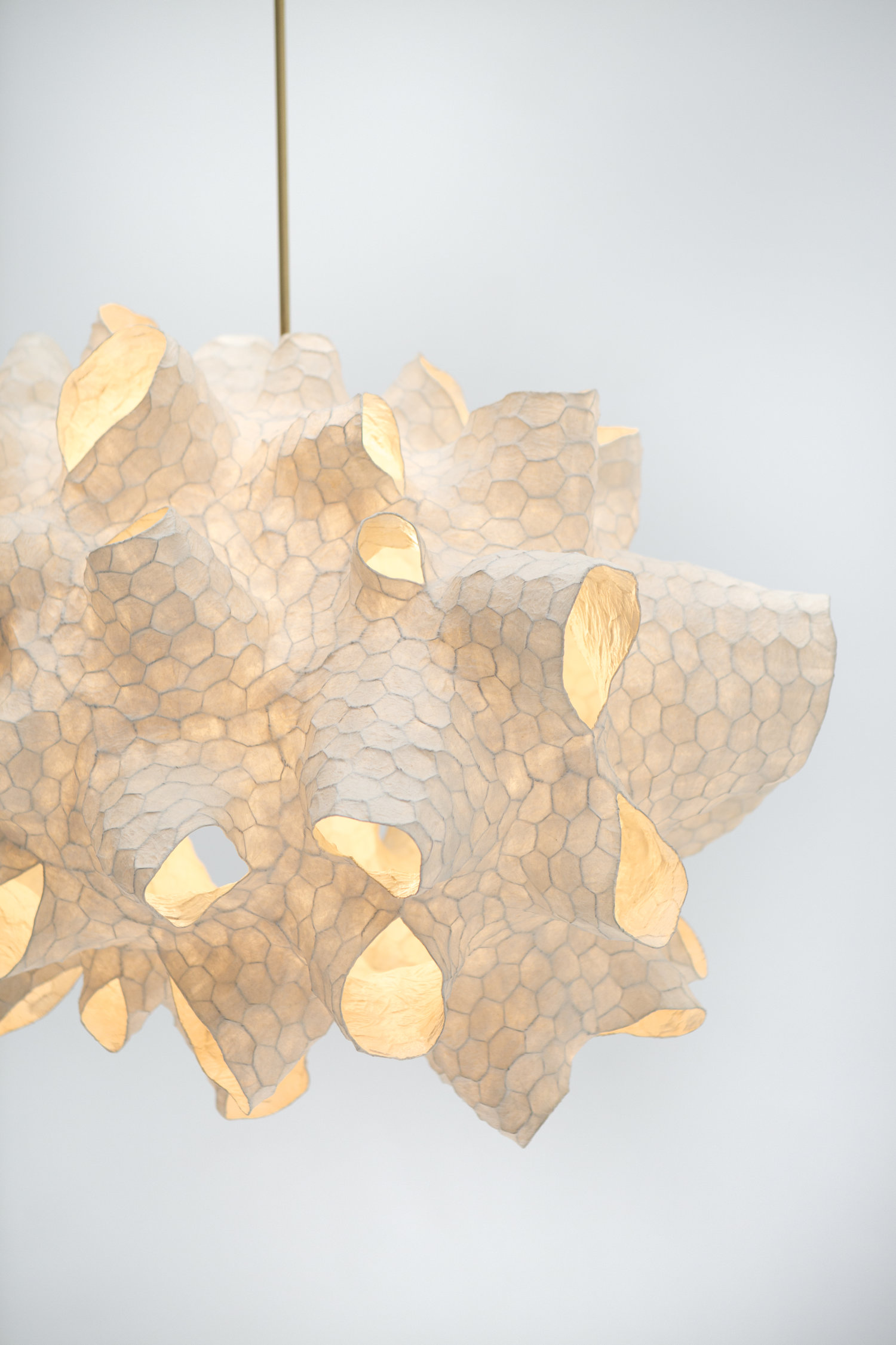 Honeycomb Light Sculpture by Patrick Weder