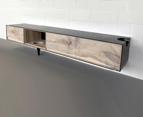 Outside In Credenza (wall mounted) by Patrick Weder