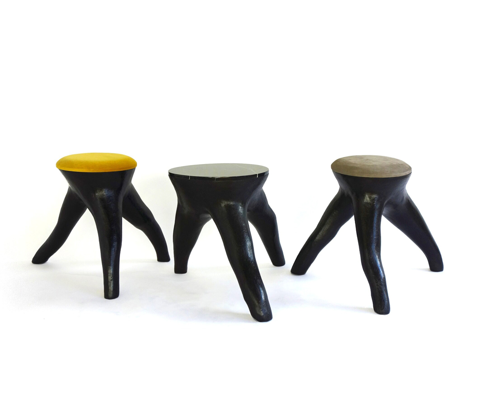 Outside In Stool by Patrick Weder