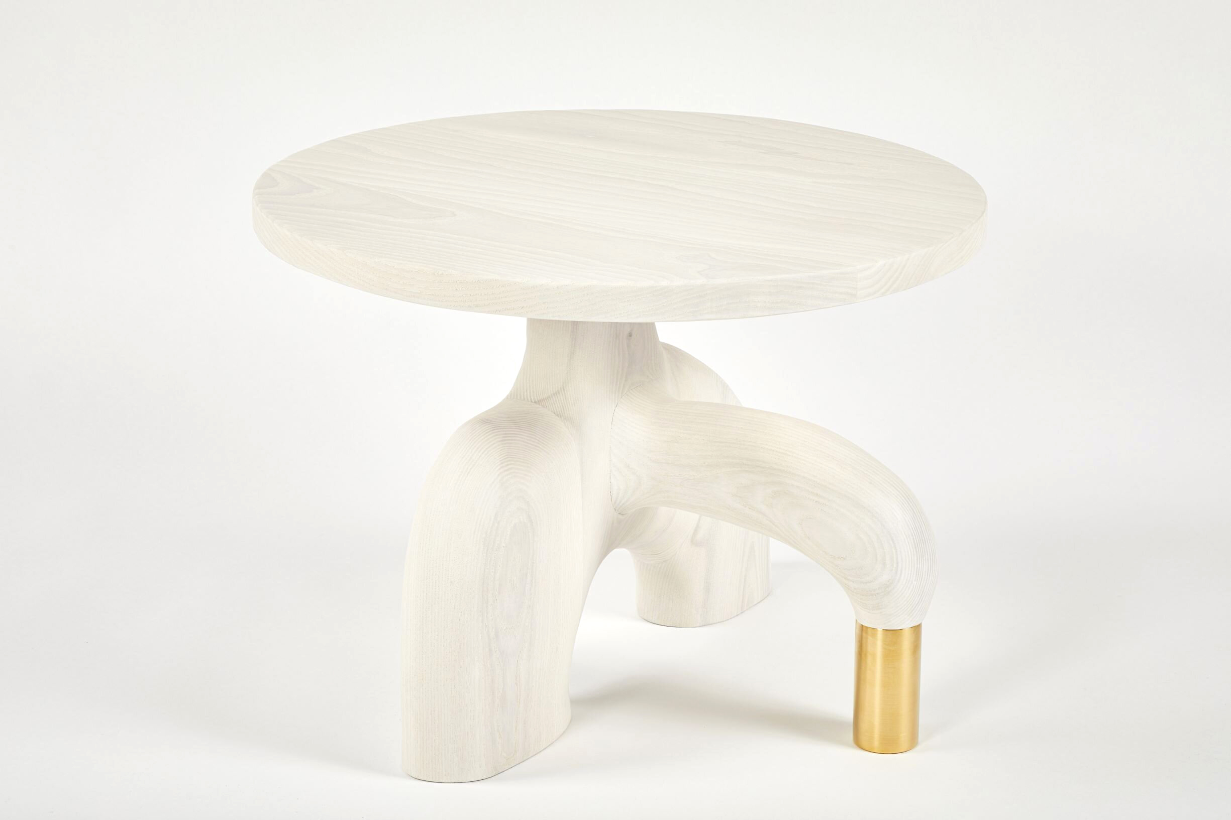 001M Sculptural Side Table by Casey McCafferty