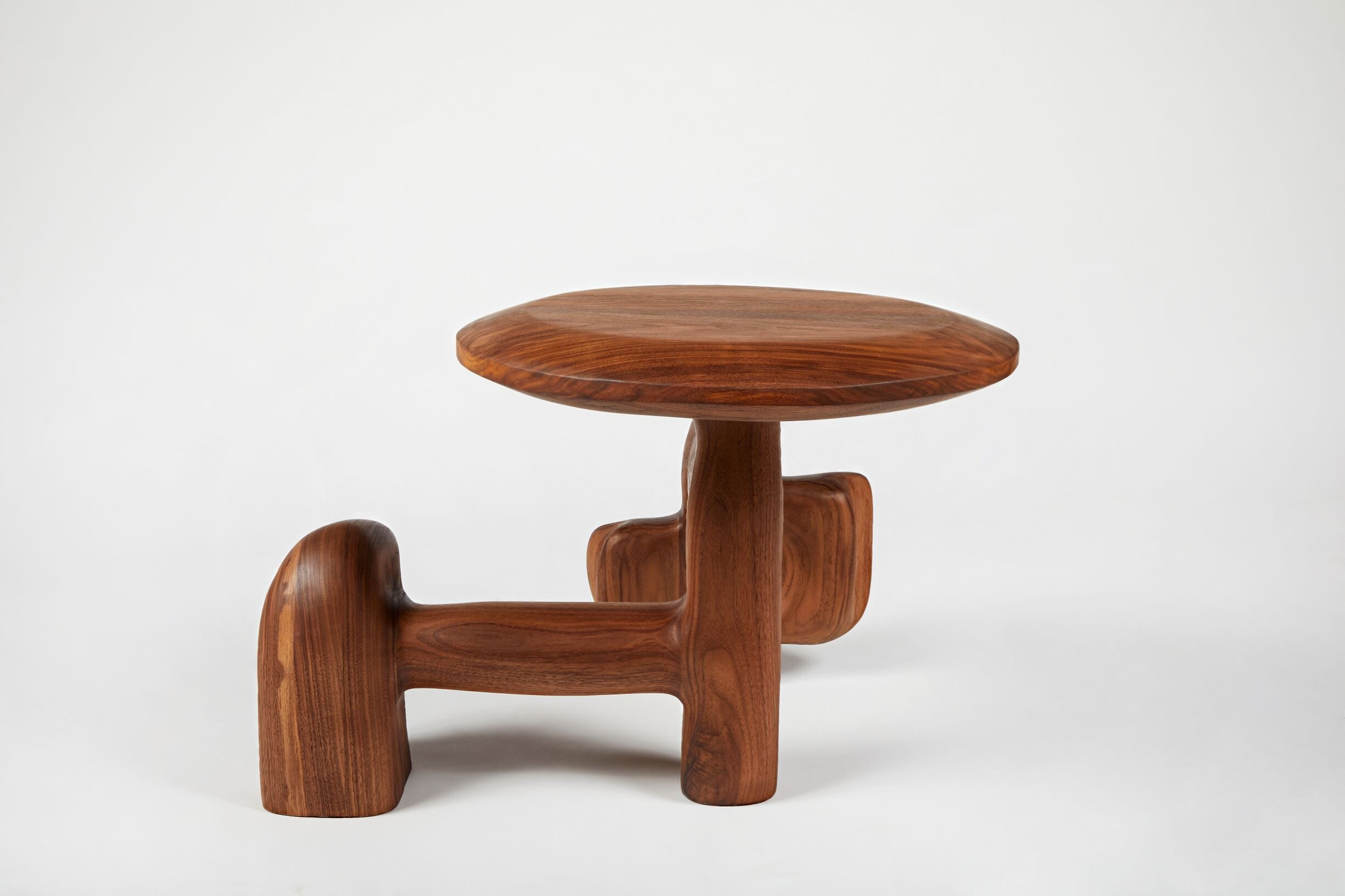 015 Sculptural Side Table by Casey McCafferty