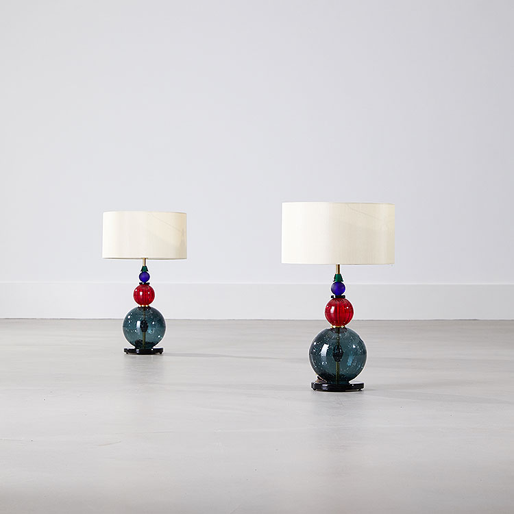 Pair of Raggazi Table Lamps