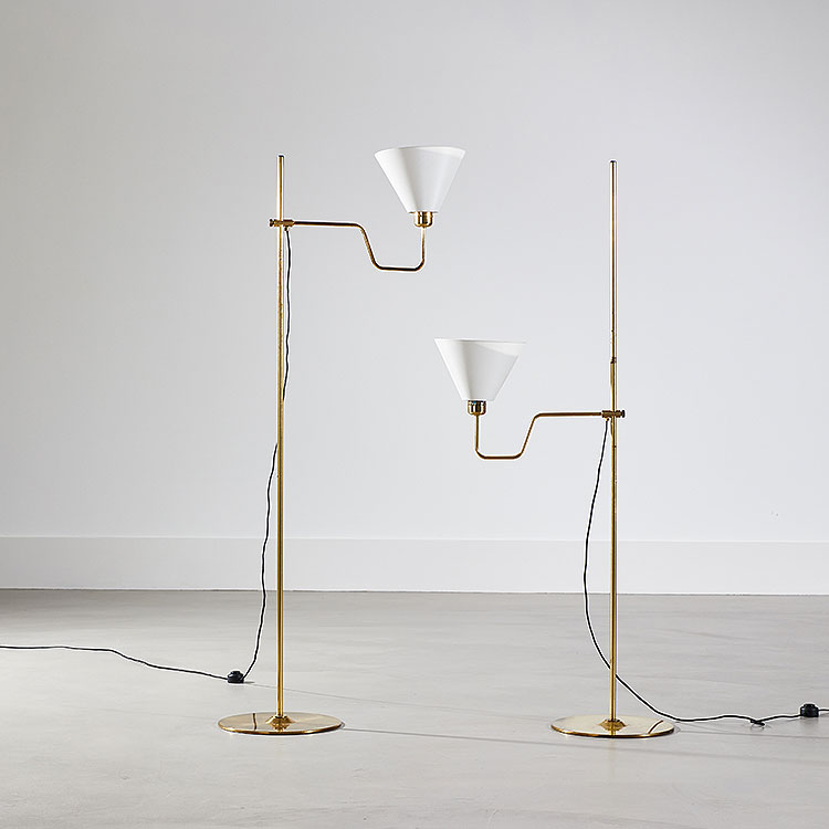 Pair of Bembo Floor Lamps