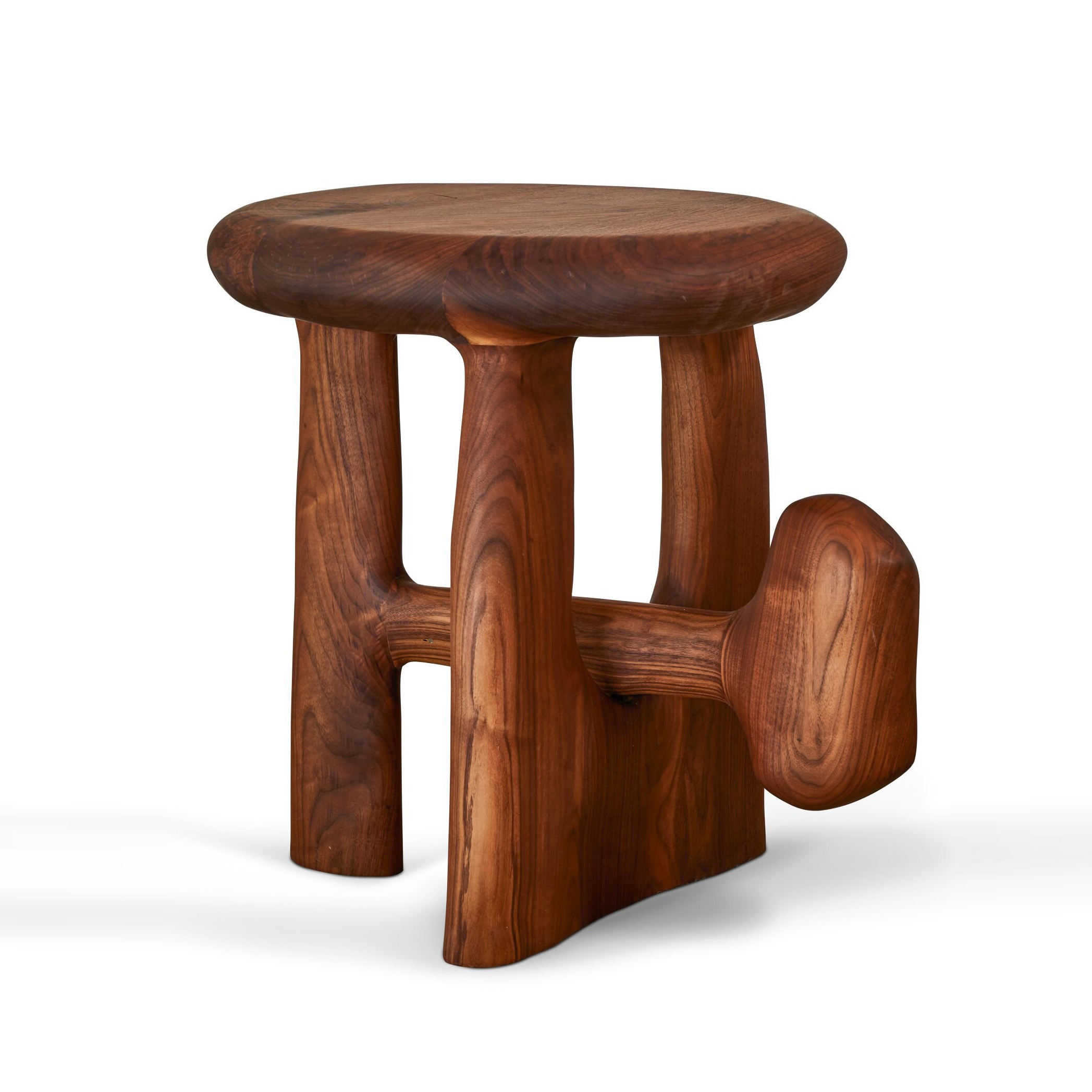 005 Sculptural Side Table by Casey McCafferty