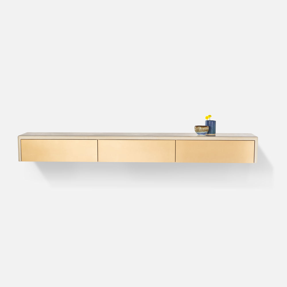 Stringer Floating Console by Casey McCafferty
