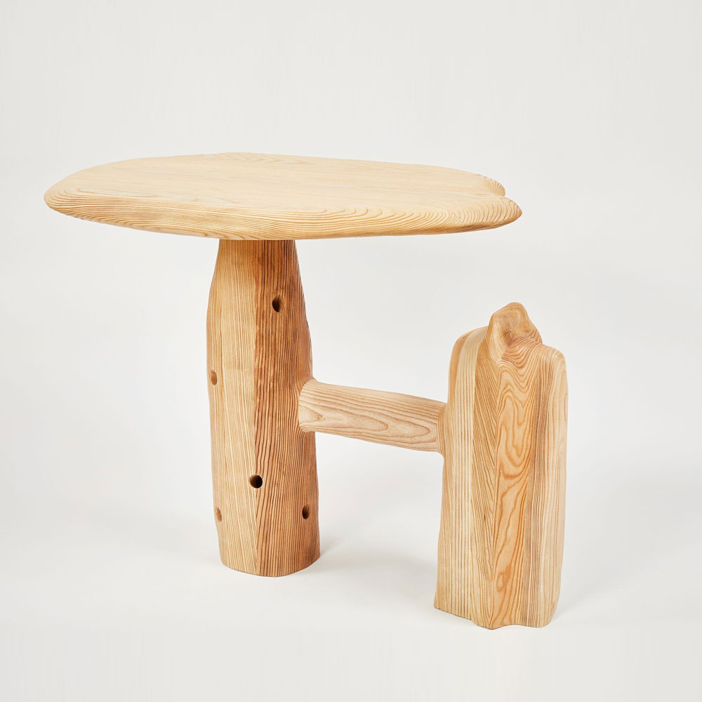 013 Sculptural Entry Table by Casey McCafferty